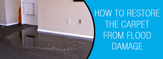 How To Restore The Carpet From Flood Damage