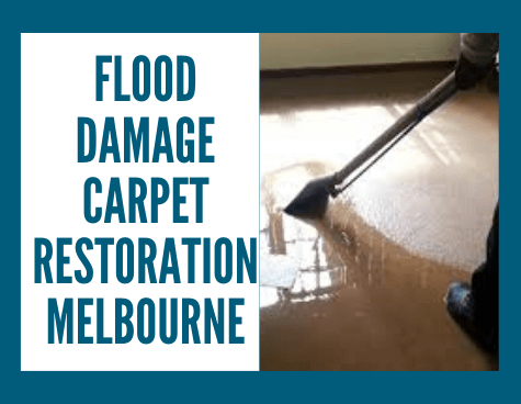 Flood Damage Carpet Restoration Services Melbourne